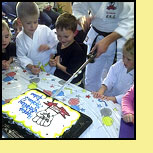 Karate themed birthday parties at Don Warrener's Martial Arts Academy